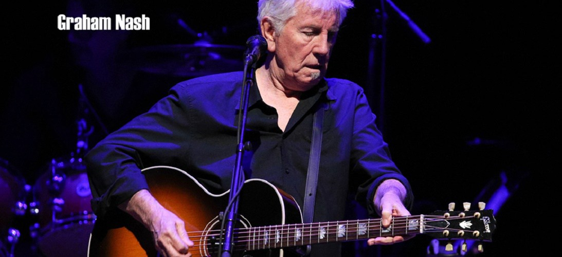 LOS ANGELES, CA - APRIL 05:  Musician Graham Nash performs onstage at the 2nd Light Up The Blues Concert - An Evening Of Music To Benefit Autism Speaks at The Theatre At Ace Hotel on April 5, 2014 in Los Angeles, California.  (Photo by Imeh Akpanudosen/Getty Images for LUTB)