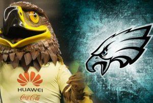 Todas Las águilas Está De Fiesta América Felicita A Filadelfia