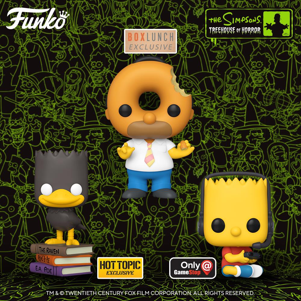 """Mira las nuevas figuras Funko inspiradas en """"la casita del horror"""""""