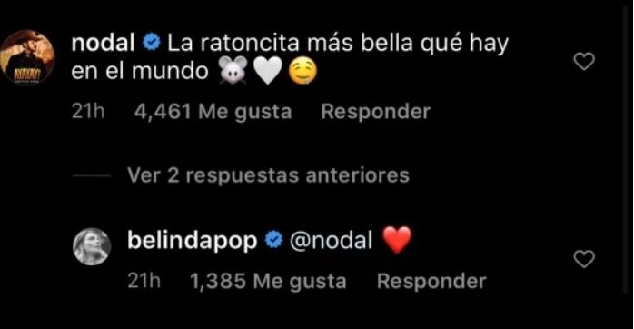 Nodal y Belinda