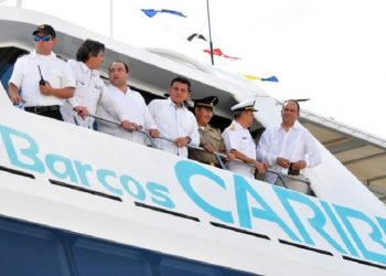 Inauguran empresa naviera en Cozumel