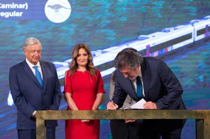 Los primeros vagones del Tren Maya estarán listos en 2023